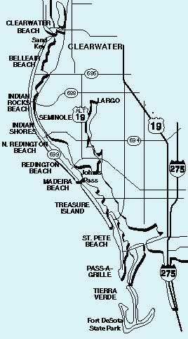 florida waterfront condos map